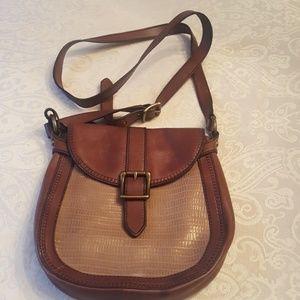 Vintage Fossil Crossbody Handbag